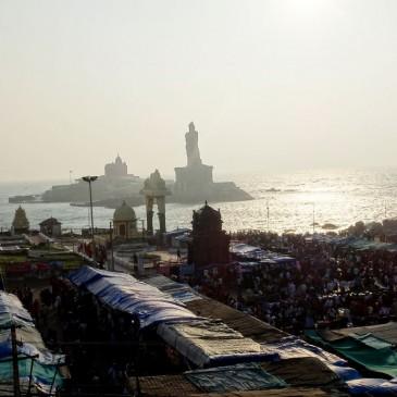 Kanyakumari – oder der unvorhergesehene Weg 2 Tage allein im Pilgerort zu verbringen